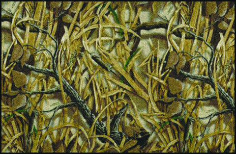 Realtree Wetlands Solid Camo Rug
