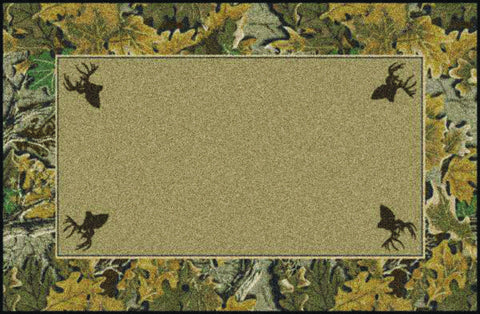 Realtree Advantage Solid Center Rug