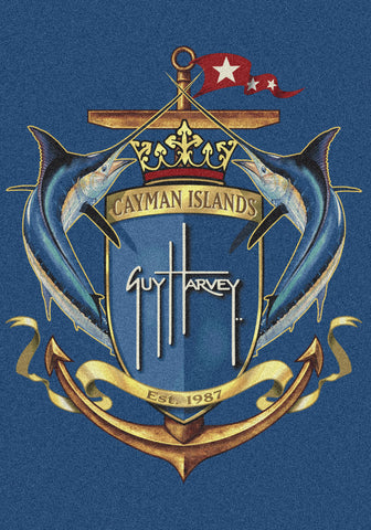 Guy Harvey GH Crest Rug