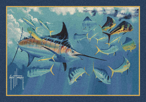 Guy Harvey Log Jam Rug