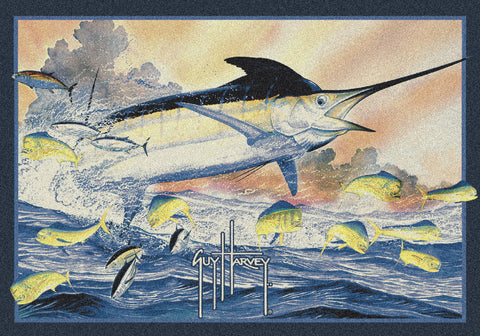 Guy Harvey Marlin Rug