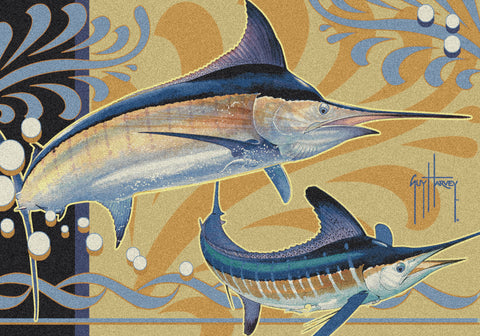 Guy Harvey Marlin Modern Rug