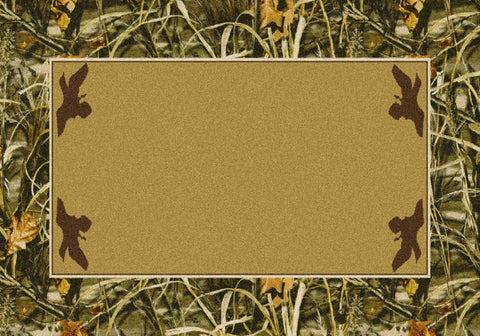 Realtree Max 4 Solid Center Rug