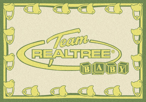 Realtree Baby Diaper Yellow Rug