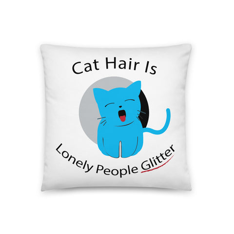 Car Hair Pillow Case W/ Filling