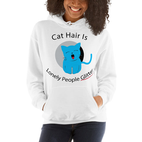 Cat Hair Hooded Sweatshirt