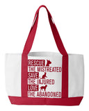 Rescue Animals Tote Bag