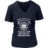 Nurses Creed V-Neck Shirt