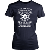 Nurses Creed Fitted T-Shirt