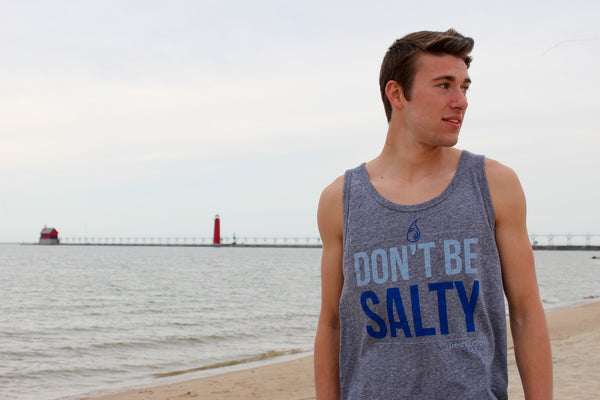"""Don't Be Salty"" Men's Tank Top"