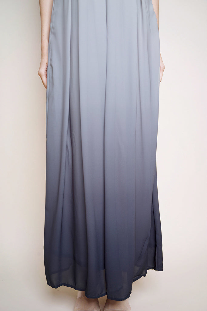 Alila Toga Ombre Maxi- Light Grey/ Grey bottom [XS/S/M/L/XL]