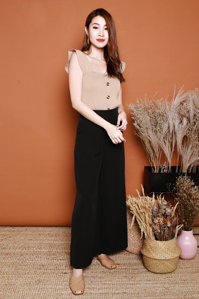 Autumn Palazzo Pants - Black [S/M/L/XL]