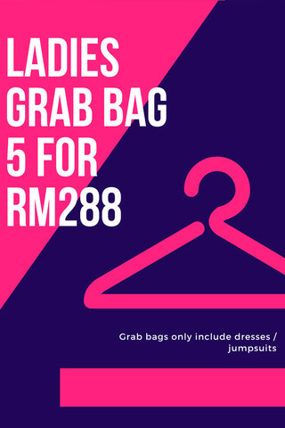 Ladies Grab Bag B: 5 for RM288 [XS/S/M/L/XL]