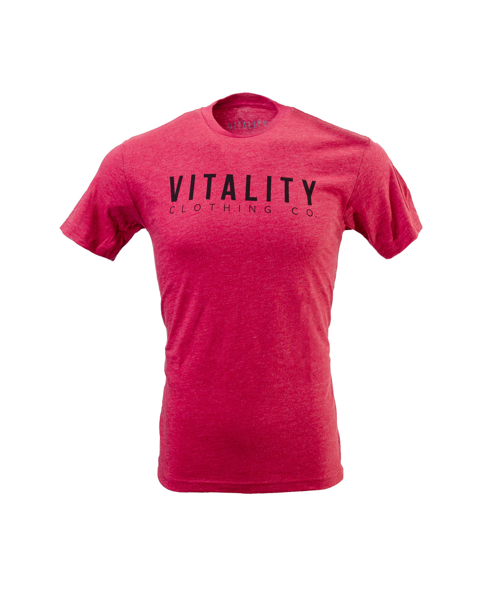 Classic Vitality Tee Red