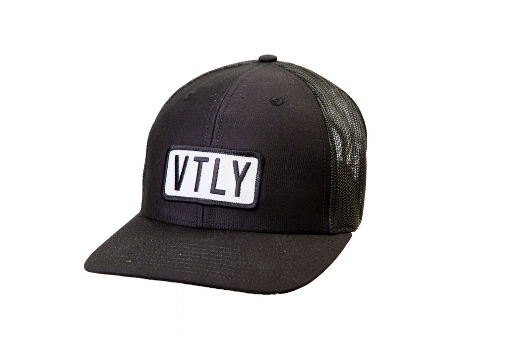 VTLY Trucker Snap-Back Black