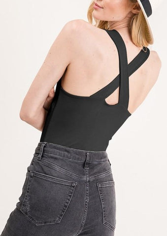 Cross Back Bodysuit