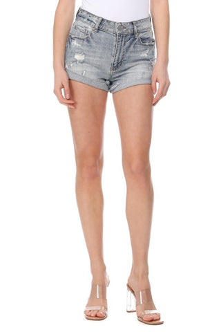 Kara High-Rise Shorts