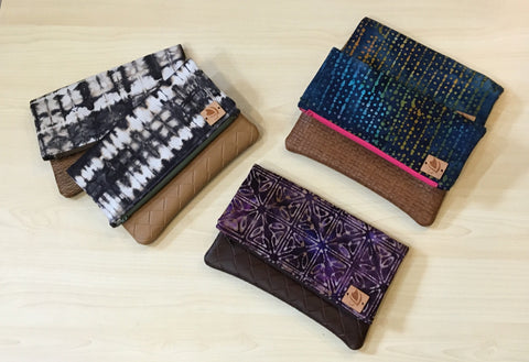 Ciel Hawaii Fold-Over Clutches