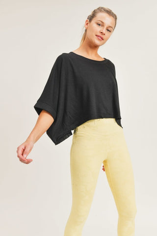 Cropped Boxy Top