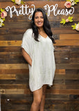 Subtle Tie Dye Tunic Dress