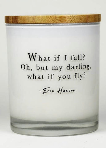 What If I Fall?- Unplug Soy Candle