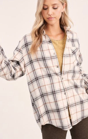 Classic Plaid Flannel Button Down
