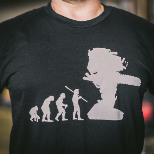 Evolution of Man T-Shirt (Mens)