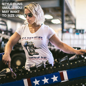 Ladies SUPER AMERICAN T-Shirt