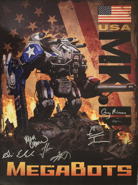 "AUTOGRAPHED Mk.II Concept Art Poster (18""x24"")"