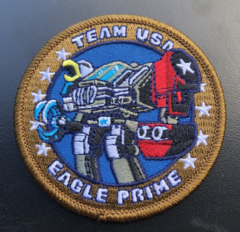 Iron-on Eagle Prime Patch