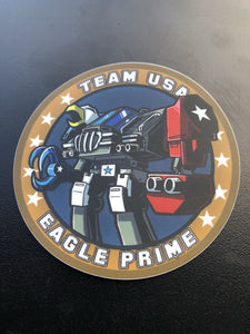 Eagle Prime Sticker
