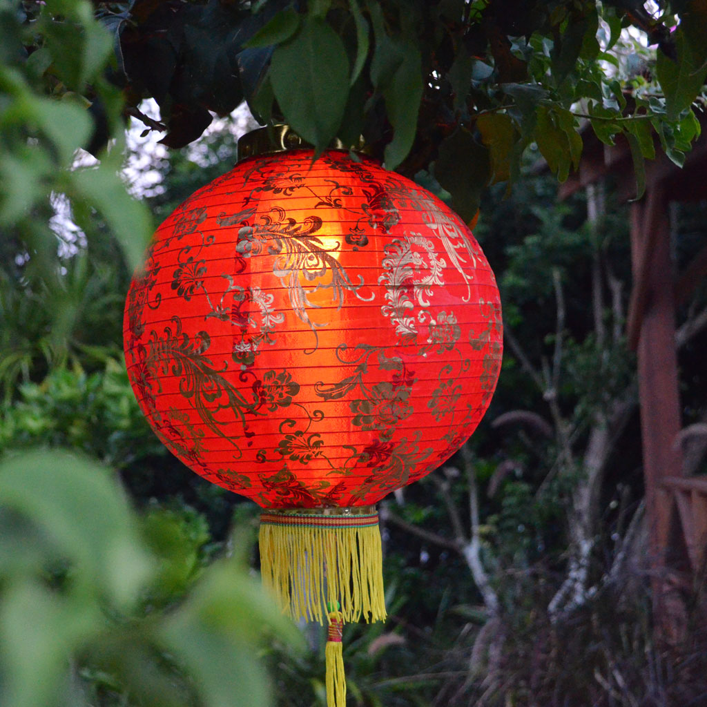 Warm White Globe Light Waterproof Lantern Lighting