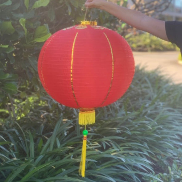 Huge Chinese Lanterns - 2 pack nylon 60cm