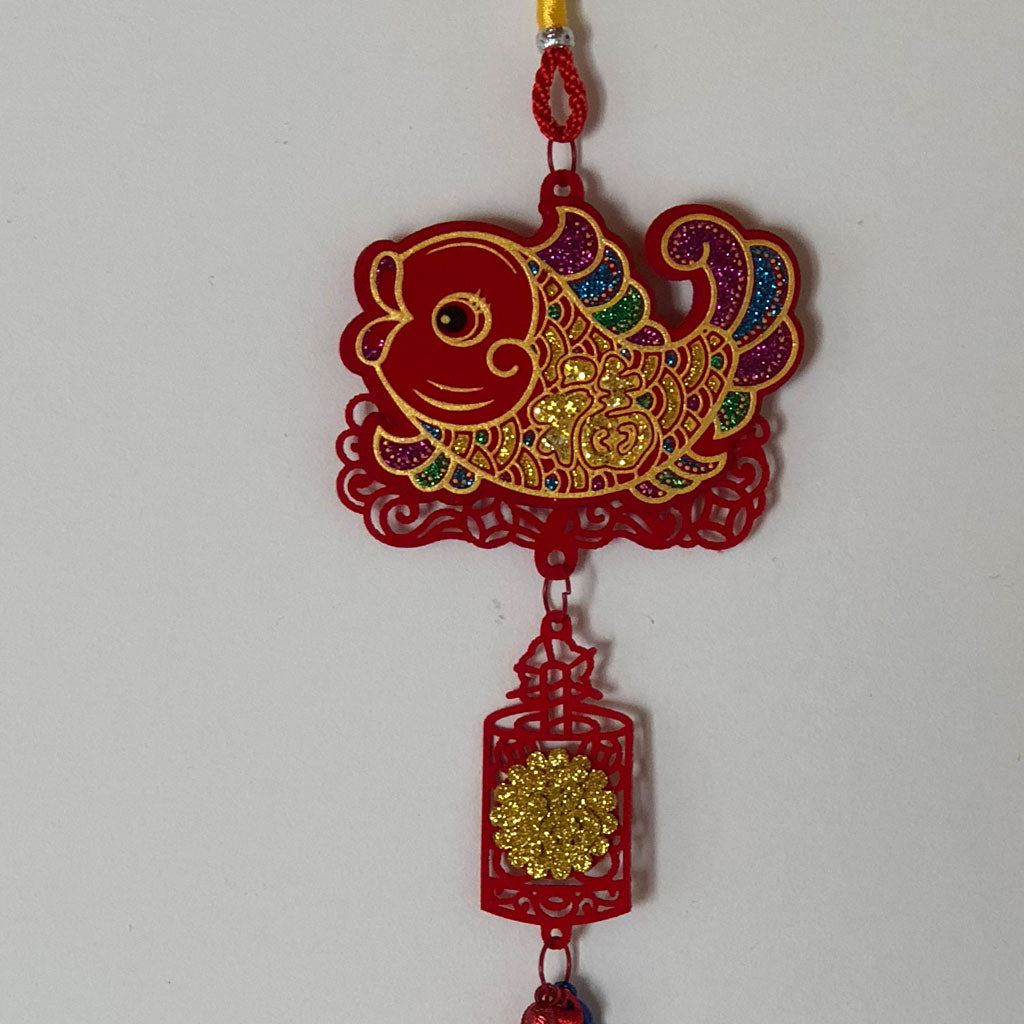 Chinese fish - good luck hanging decoration