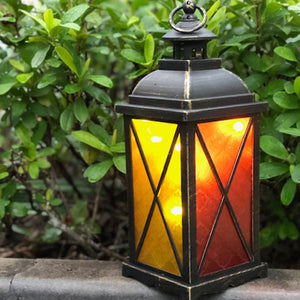 Large Moroccan Lantern with LED fairy lighting