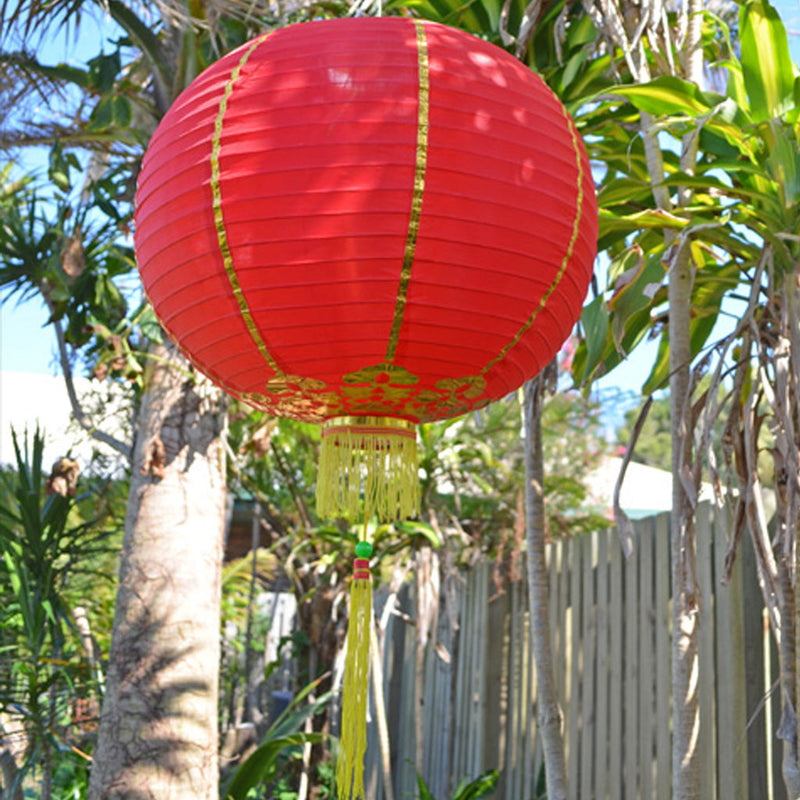 Giant Chinese Lanterns - 2 pack nylon 50cm