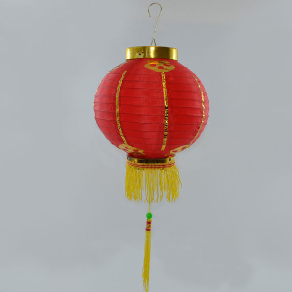 Chinese Lantern - Small Chinese Lanterns Red - Pack 2 Nylon Lanterns