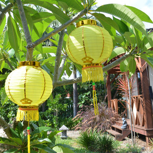 Small Chinese Lanterns - pack 2 nylon lanterns