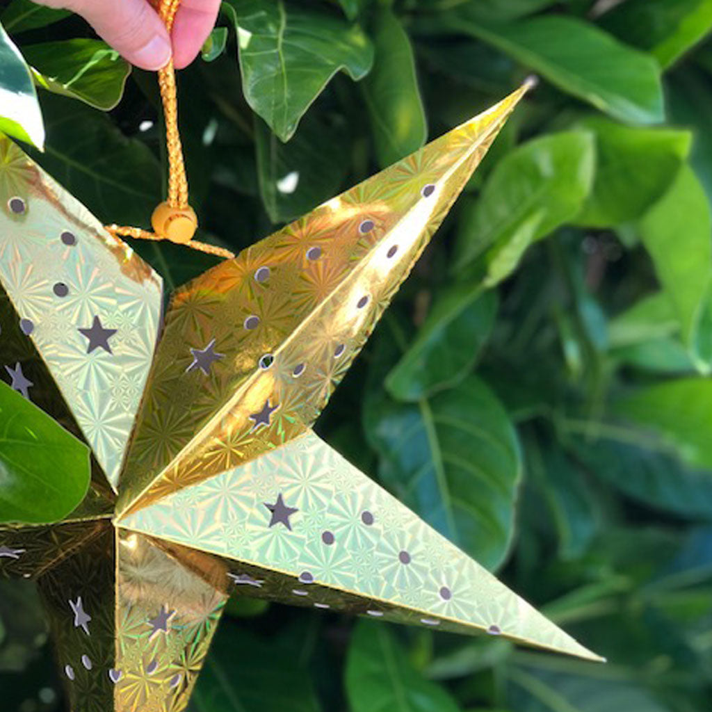Decorative Medium Star Lantern