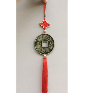 Lucky dragon coin Chinese decoration