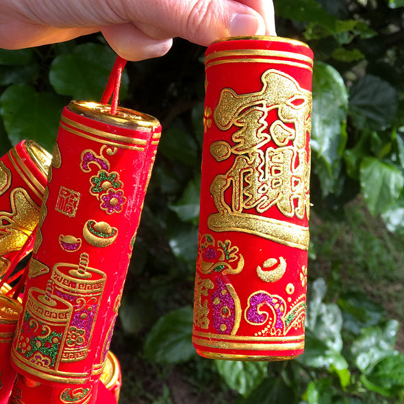 Massive Chinese Firecrackers Hanging Decoration (1.6 metres)