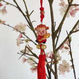 God of Wealth - Chinese prosperity hanging decoration