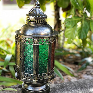 huge Moroccan LED lantern