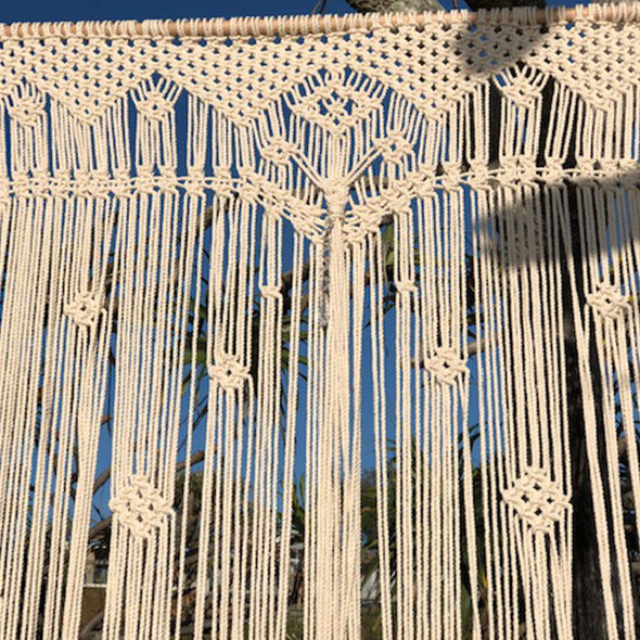 Long Macrame Arbour/Hanging Decoration