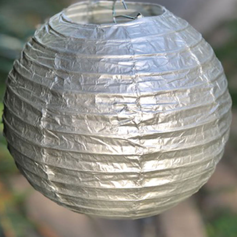 20cm Metallic Paper Lanterns