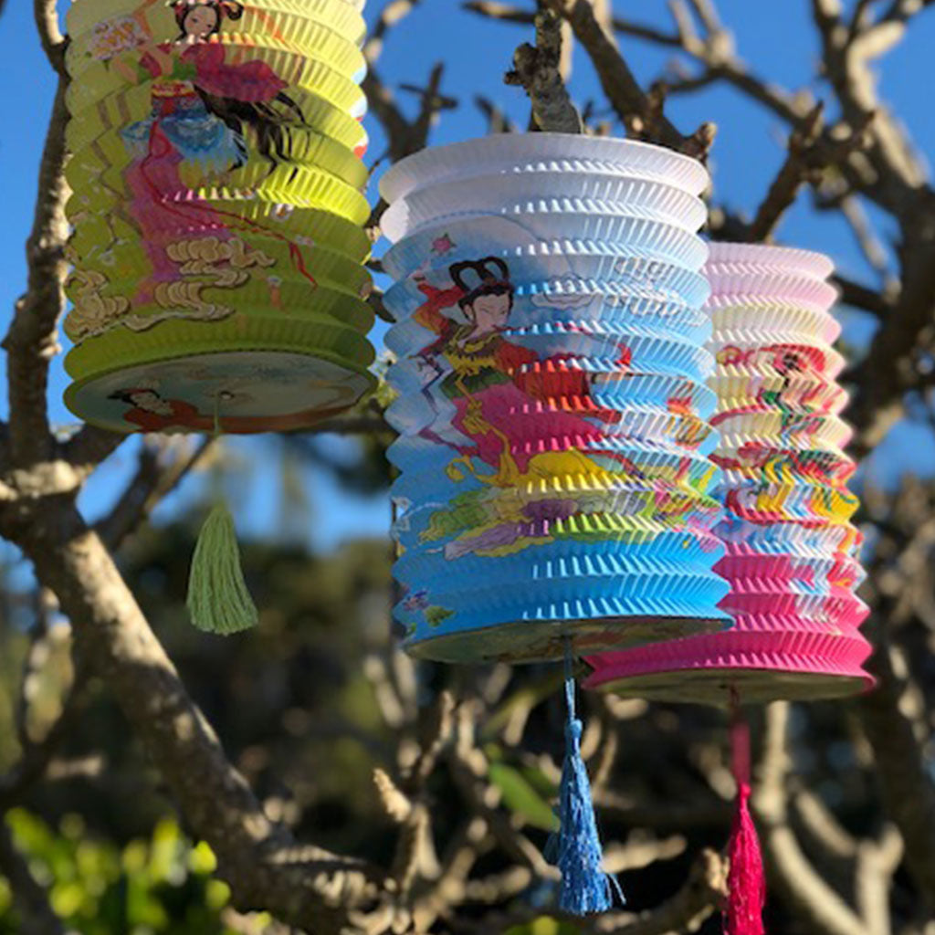 Mid Autumn/Moon Festival printed lanterns