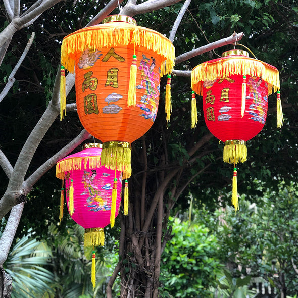 Mid Autumn Lanterns - 2 pack nylon lanterns
