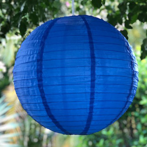 nylon lantern dark blue