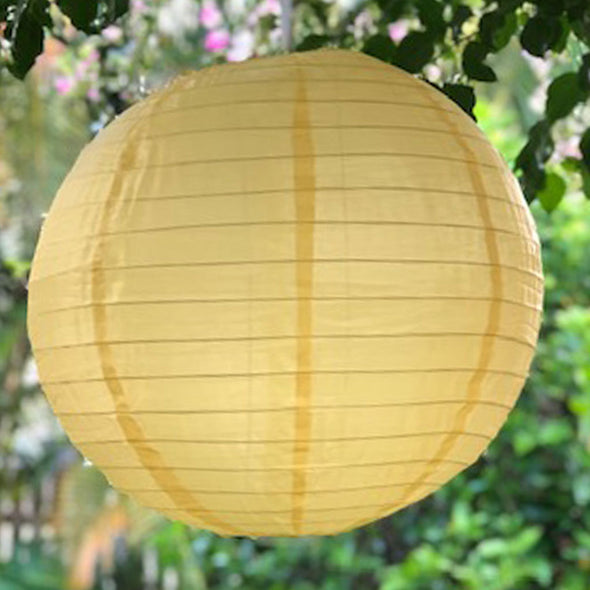 nylon lantern golden yellow