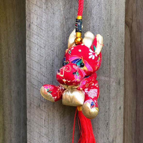 Printed Cow - Chinese Hanging Decoration 2021 year of the cow